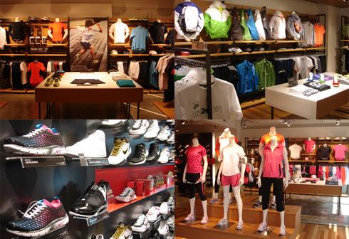 Photo:NikeFukuoka店内風景
